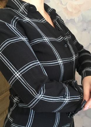 Рубашка удлинённая, туника, платье
