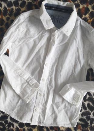 Рубашка. хлопок. 2-4 года