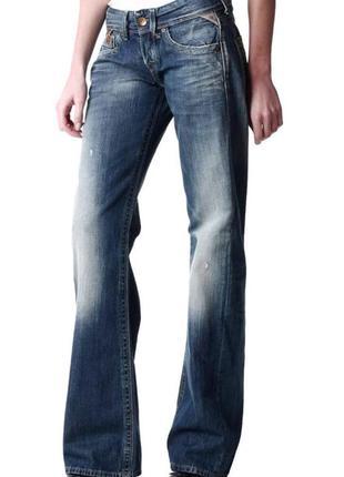Новые джинсы бойфренды рваные w29 l32 *replay janice boyfriend*