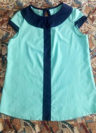 Трендовая блуза рубашка