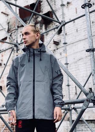 Куртка ветровка рефлектив адидас adidas
