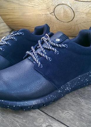 Спортивные туфли  restime rush run, темно синий, 36-41р