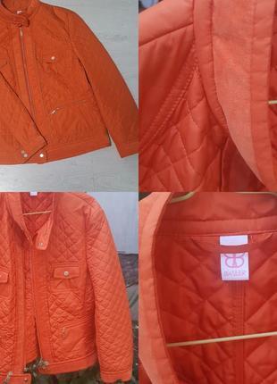 Продам терракотовую куртку-ветровку basler