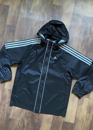 Осеняя куртка ветровка adidas оригинал адидас адідас
