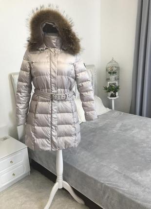 Пуховое пальто /90% пух / modissa швейцария 🇨🇭