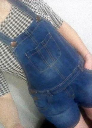 Комбез джинсовый комбинезон комбінезон