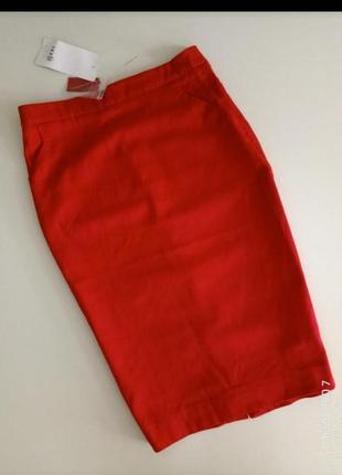 Фирменная юбка карандаш от бренда oodji,34,xs