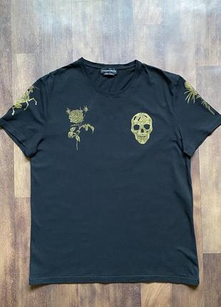 Мужская футболка alexander mcqueen оригинал размер l