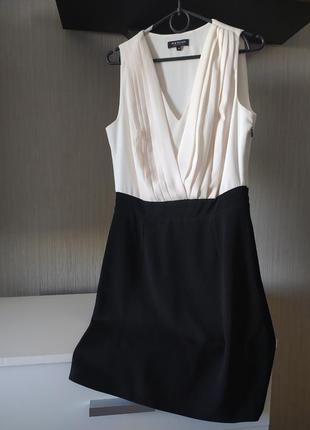 Базовое платье, черно-белое
