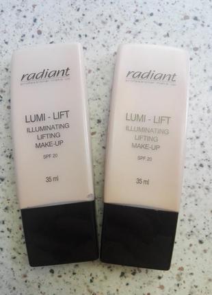 Тональный крем radiant lumi-lift illuminating lifting make-up №02