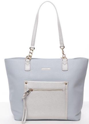 Женская сумка david jones cm3301 pale-blue