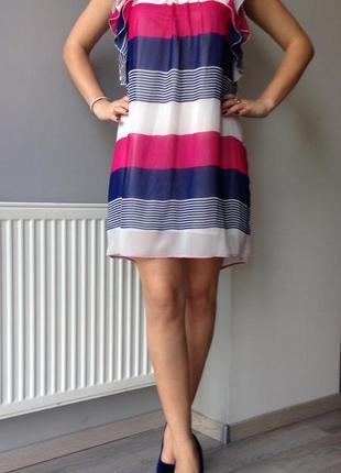 Прелесное шифоновое платье.