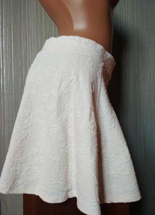 Фактурная юбка восьмиклинка divided для h&m