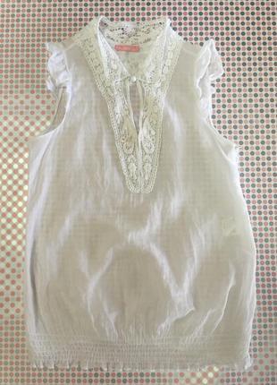 Легкая блуза котон