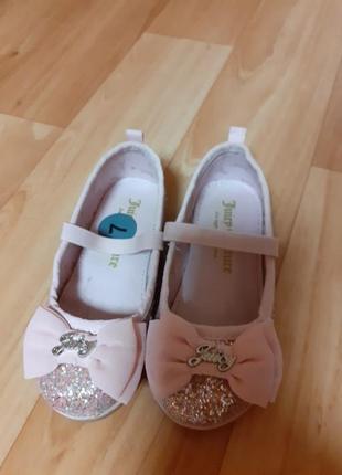 Туфельки для маленькой модницы