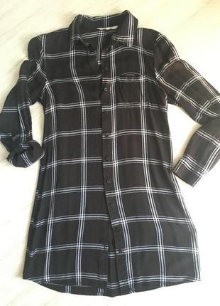Рубашка удлинённая туника