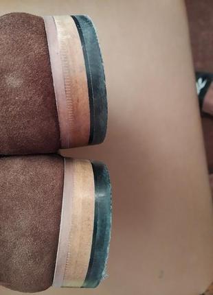 Туфли замш2 фото