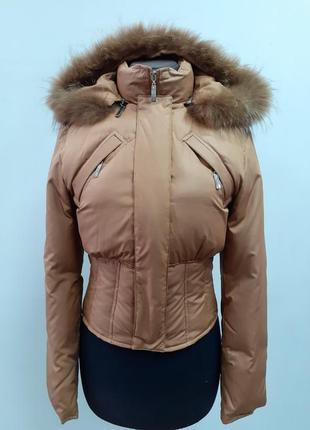 Короткий пуховик , короткая, теплая, куртка, скидки