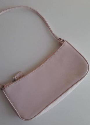 Розовася сумка багет