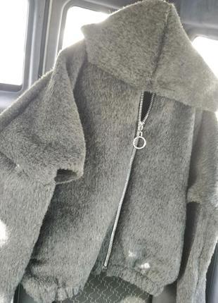 Плюшевая толстовка, кардиган, куртка
