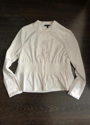 Базовая белая рубашка topshop