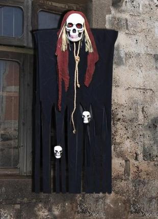 Декор для хэллоуина или фото зоны фото сессий призрачный череп