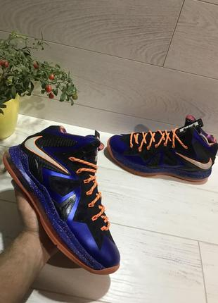 "Баскетбольные кроссовки nike lebron x p.s. elite ""superhero"""