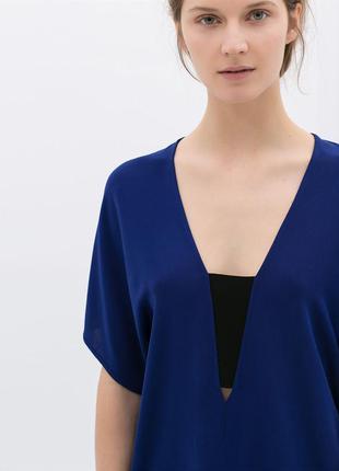 Синяя блуза, xs-s