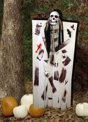 Декор для хэллоуина фото зоны фото сессий призрачный череп