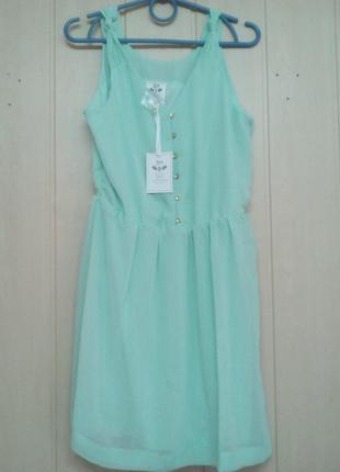 Лёгкое итальянское платье