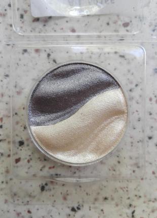 Шиммерные тени essence 3d duo eyeshadow № 07 (тестер)