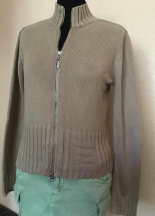 Кардиган кофта свитер на замке хлопок