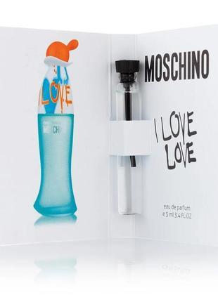 ❤️ мини парфюм с феромонами ❤️ акция 3+1❤️moschino cheap & chic i love love 😍
