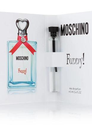 ❤️мини парфюм с феромонами ❤️ акция 3+1❤️moschino funny 💋