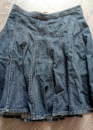 """Фирменная джинсовая юбка акция """"-50 % на вторую вещь"""""""