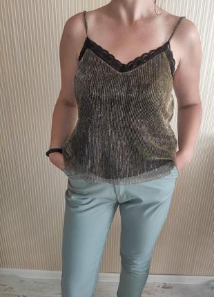 Топ, кофта, блуза на бретельках stradivarius