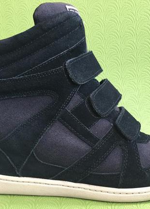 Высокие ботинки кроссовки сникерсы skch+3 by  skechers