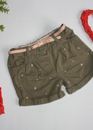 Стильные шорты р3-4 f&f