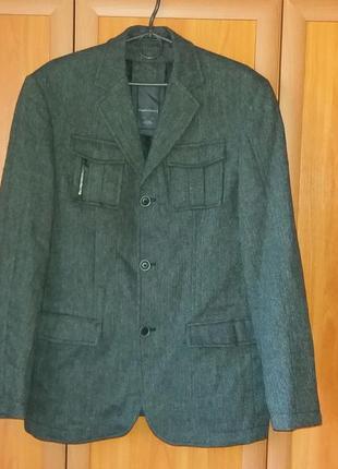 Angelo litrico пиджак, ветровка (29%шерсть)
