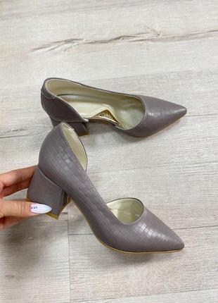 Туфли с итальянскрй кожи кожаные