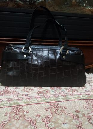 Шикарная сумка италия.кожа натуральная
