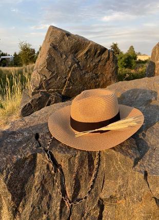 Fedora фёдора соломенная шляпа солома рафия канотье