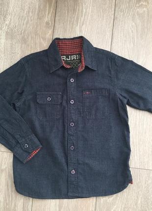 Джинсовая рубашка debenhams p.6лет