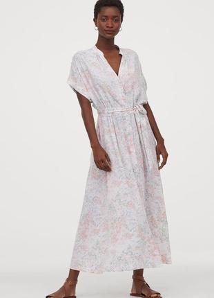 Новое платье h&m на пуговицах xxl
