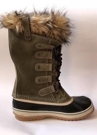 Sorel новые  зимние теплые сапоги ботинки 38 40 оригинал