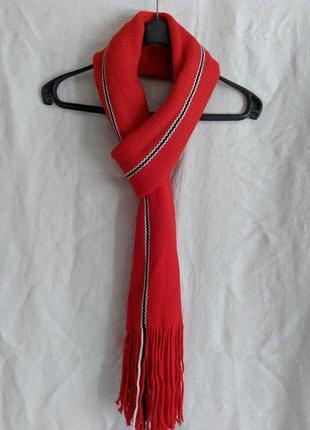 Мужской длинный шарф
