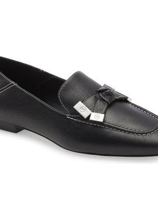 Кожаные туфли/ лоферы michael kors, р.9,5