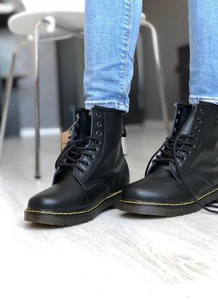Ботинки dr.martens 1460  fur черевики