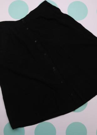 Женская юбка с пуговицами terranova