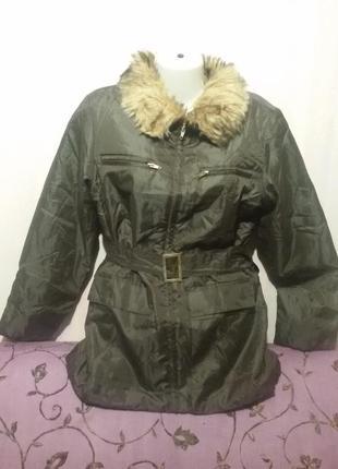 Ветровка куртка тонкая воротник отстегивается (пог-53 см)